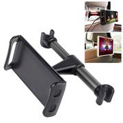 Universal Back Seat Headrest Tablet/Phone Mount Holder with 360 Degree Rotation for Apple iPad/Pro/Mini, iPhone Xs Max/Xs/Xr/X/8/8 Plus, Galaxy Tab S3, Note 8, Surface Pro 4, etc. by Cellet
