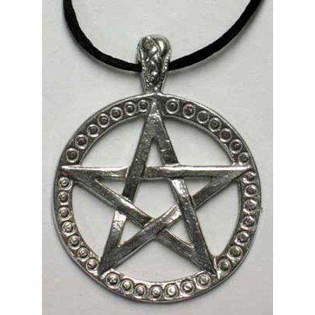 Pentacle Design (Raven Blackwood Imports Pentacle Intertwined Double Sided Design Necklace Power To Envoke)