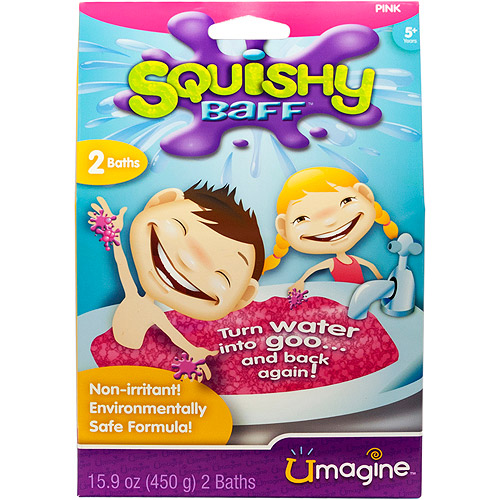 Squishy Baff Bath Activity Kit - Pink