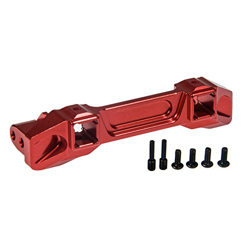 RC-FAST Aluminum Alloy Front Bumper Mounting Base for Traxxas TRX-4 1/10 RC Crawlers Buggy Car
