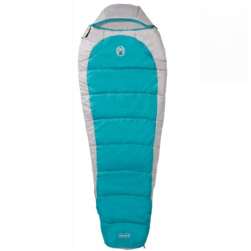Coleman Silverton 350 Mummy Sleeping Bag Teal Tan 2000015770 SKU: 2000015770 with Elite Tactical Cloth by COLEMAN