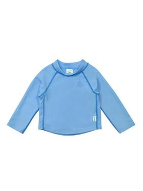 i play. Baby Toddler Girl or Boy Unisex Long Sleeve Rashguard Swim Shirt