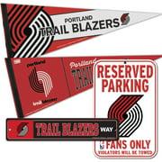 Portland Trail Blazers WinCraft Fan Cave Set - No Size