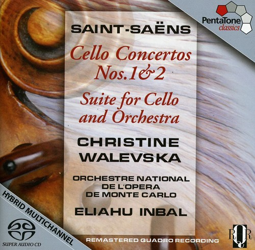 C. Saint-Saens Saint-Sa Ns: Cello Concertos Nos. 1 & 2; Suite for Cello and Orchestra... by
