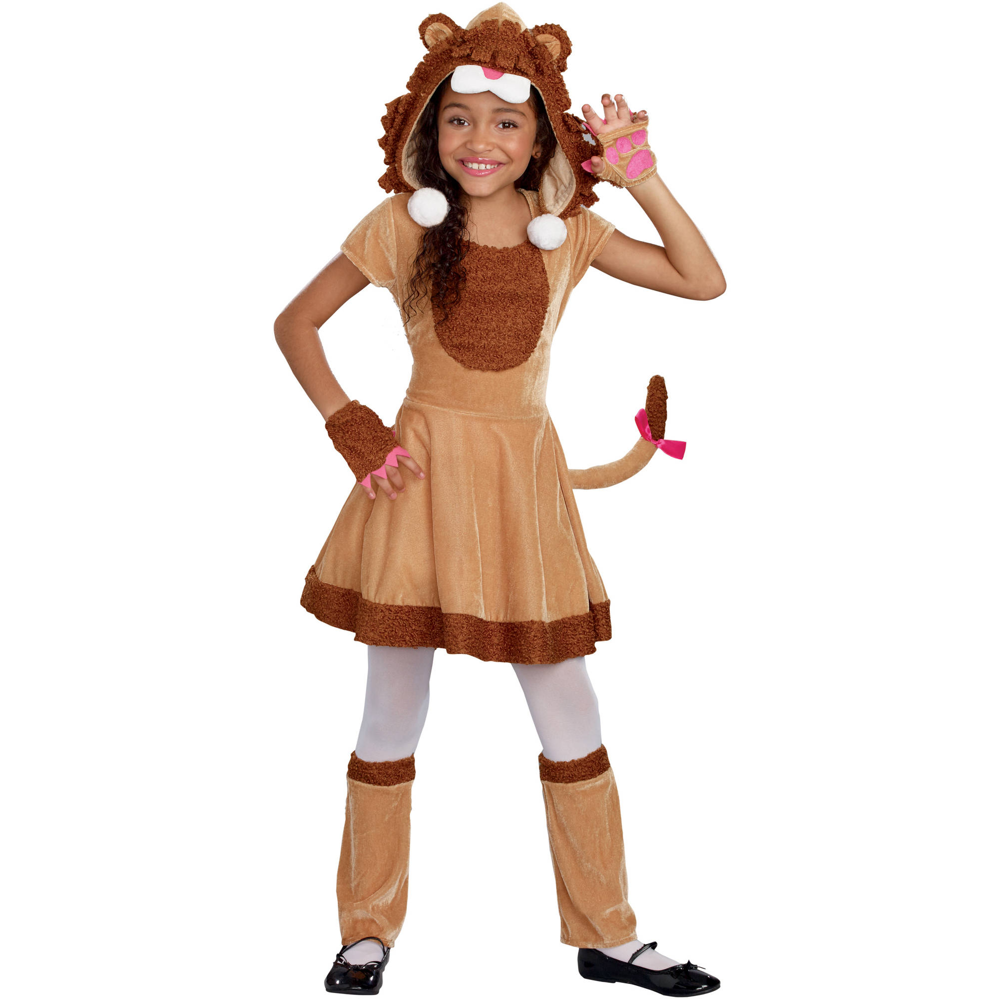 Little Lion Girls Toddler Halloween Costume Small