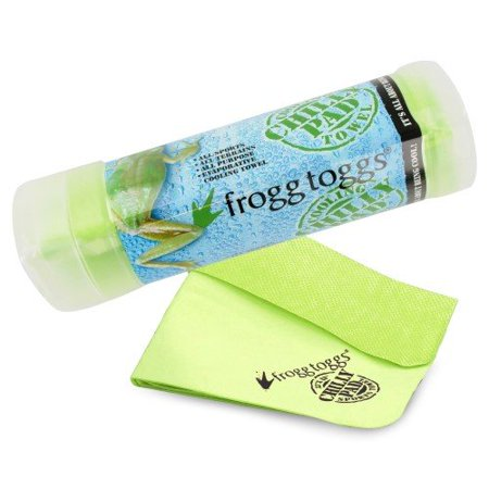 Frogg Toggs Chilly Pad Towel Outdoor Green Soft Comfort Chilly Pad Cooling