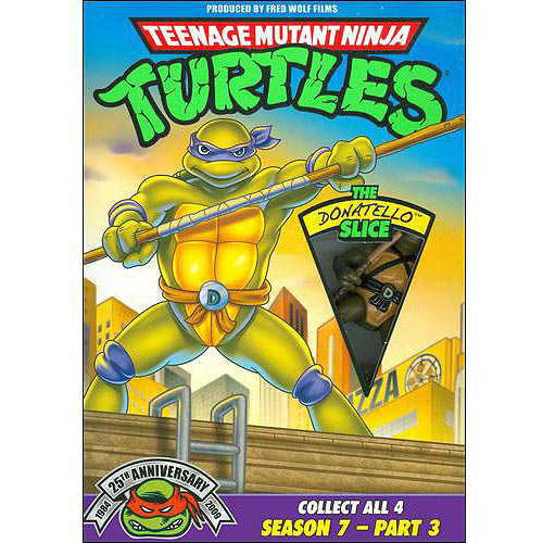 Teenage Mutant Ninja Turtles: Season 7 Pt. 3-Donat [DVD]