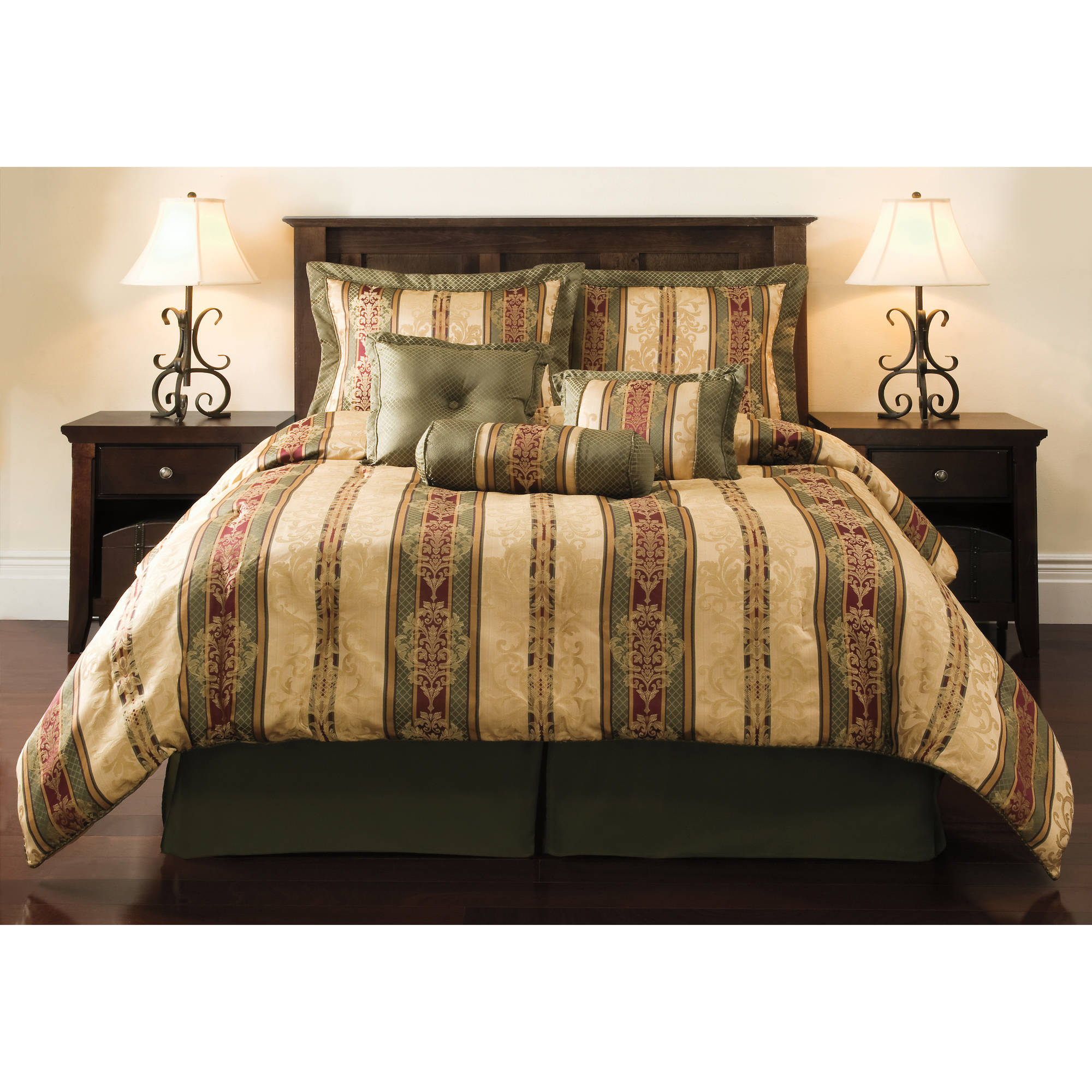 Mainstays 7 Piece Comforter Set, Dakota