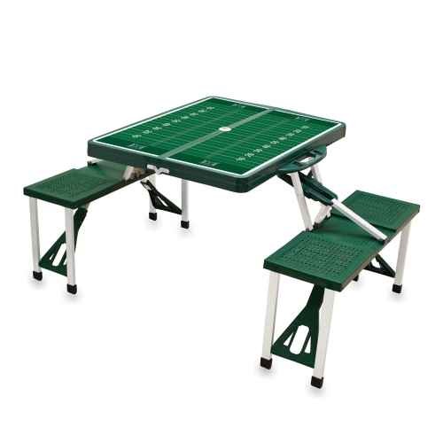 Hawaii Warriors Picnic Table Green No Size by Picnic Time