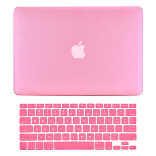 "A1278 Rubberized BABY PINK Hard Case Cover for Apple Macbook PRO 13/"" 13.3"
