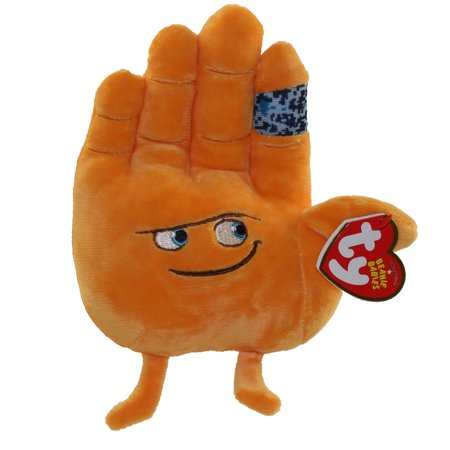 TY Beanie Baby - The Emoji Movie - HI 5 (6 - High Five Emoji