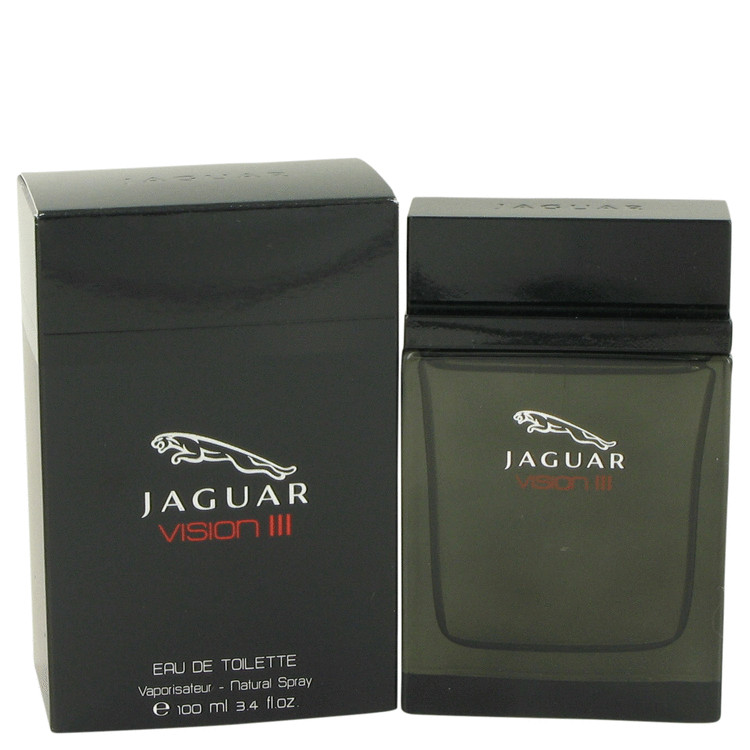 Jaguar Jaguar Vision III Eau De Toilette Spray for Men 3.4 oz