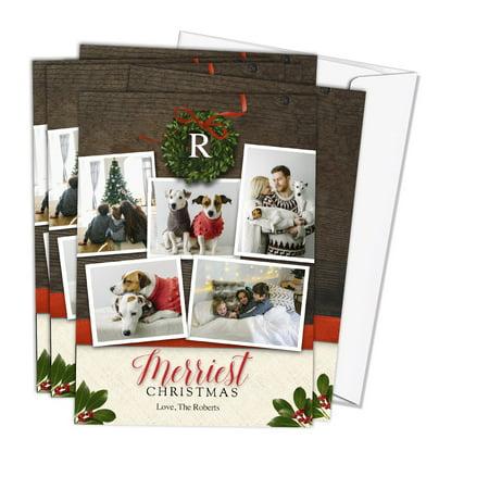 Royal Fiber 80 Lb Cover - Same Day 5x7 Linen Stationery Photo Cards 80 lb