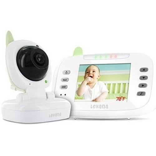 Refurbished Levana - Safe N' See Advanced 3.5 Digital Video Baby Monitor