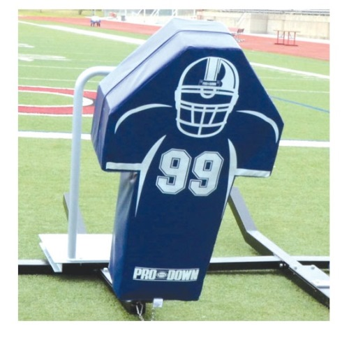 Football Man Sled Pad - Blue