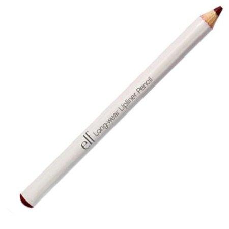 e.l.f. Long-Wear Lipliner Pencil, Bitter 0.04oz (Best Long Wear Lip Liner)