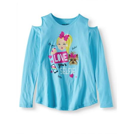 Bad Girl Long Sleeve T-shirts (JoJo Siwa