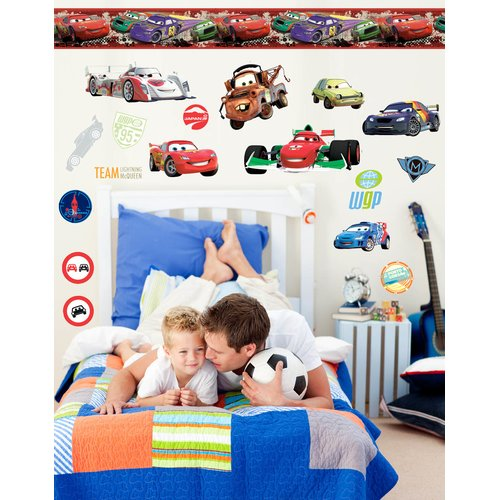 Wallhogs Disney Cars 2 Room Makeover Wall Decal