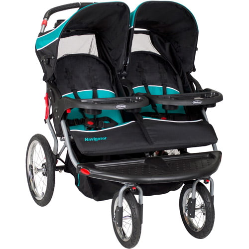 Baby Trend Navigator Double Jogger Stroller, Tropic by Baby Trend