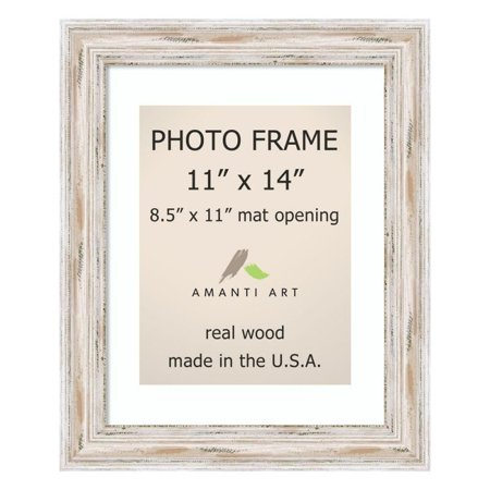 Image of Alexandria White Wash: 15 x 18-Inch Picture Frame
