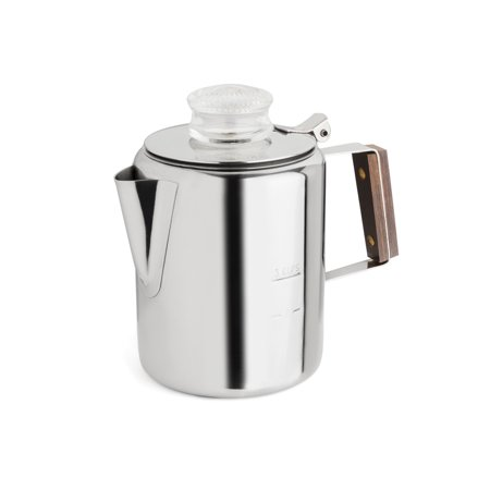 Rapid Brew 2-3 Cup Stainless Steel Percolator Fast Brew Percolator