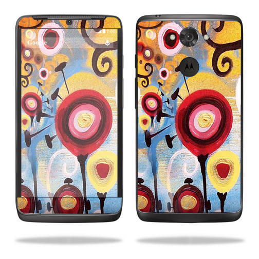 Mightyskins Protective Vinyl Skin Decal Cover for Motorola Droid Turbo Cover wrap sticker skins Nature Dream