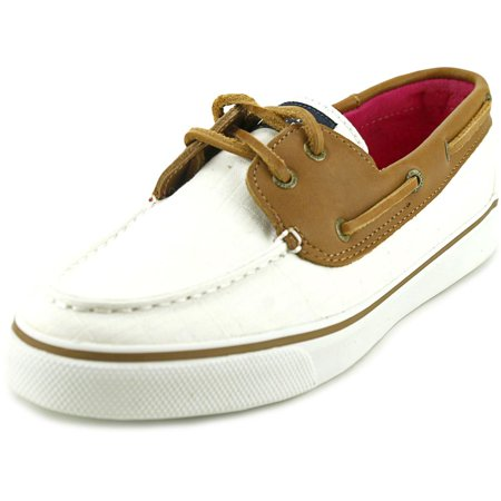 Sperry Top Sider Bahama Women  Moc Toe Canvas Ivory Boat (Womens Sperry Top Sider Bahama Boat Shoe Navy)