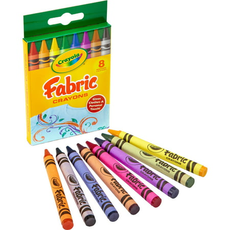 Multi Point Crayons (Crayola Crayola Fabric Crayon - 3.6