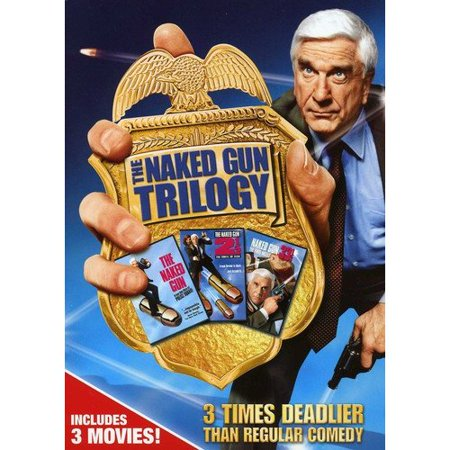 The Naked Gun Trilogy  The Naked Gun   The Naked Gun 2 1 2  The Smell Of Fear   The Naked Gun 33 1 3  The Final Insult  Widescreen