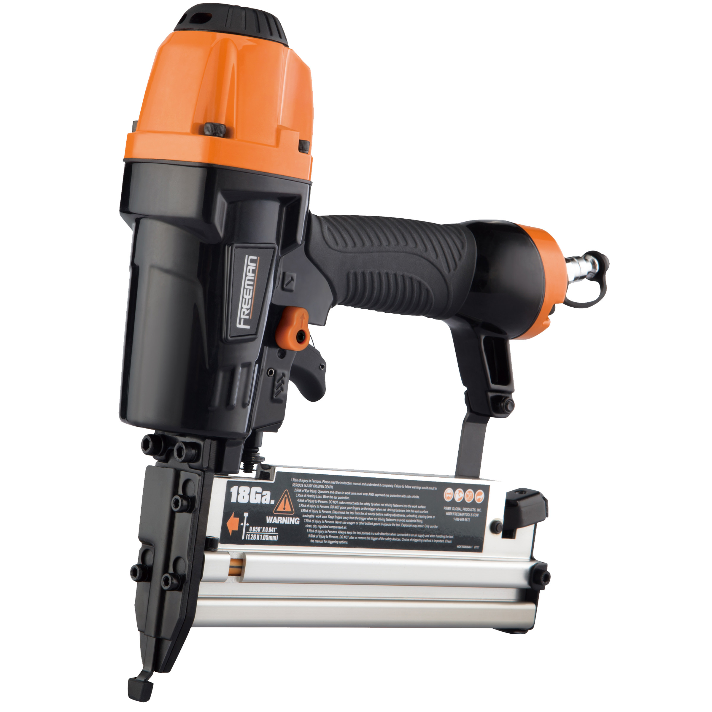 Freeman Pneumatic 3-in-1 16 & 18 Gauge Finish Nailer & Stapler