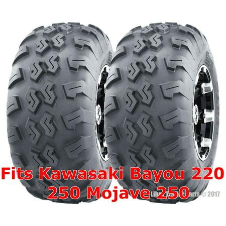 Kawasaki Bayou 220 250 Mojave 250 ATV Rear Tires Set 22x10-10 22x10x10