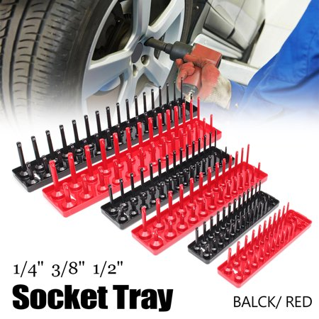 3pcs Socket Stand Tray Rack Storage Tool Organizer Rail Holder 1/2