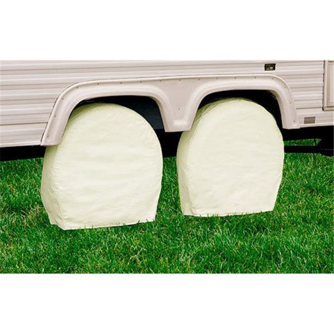 Snow White Model 0 RV Wheel Covers