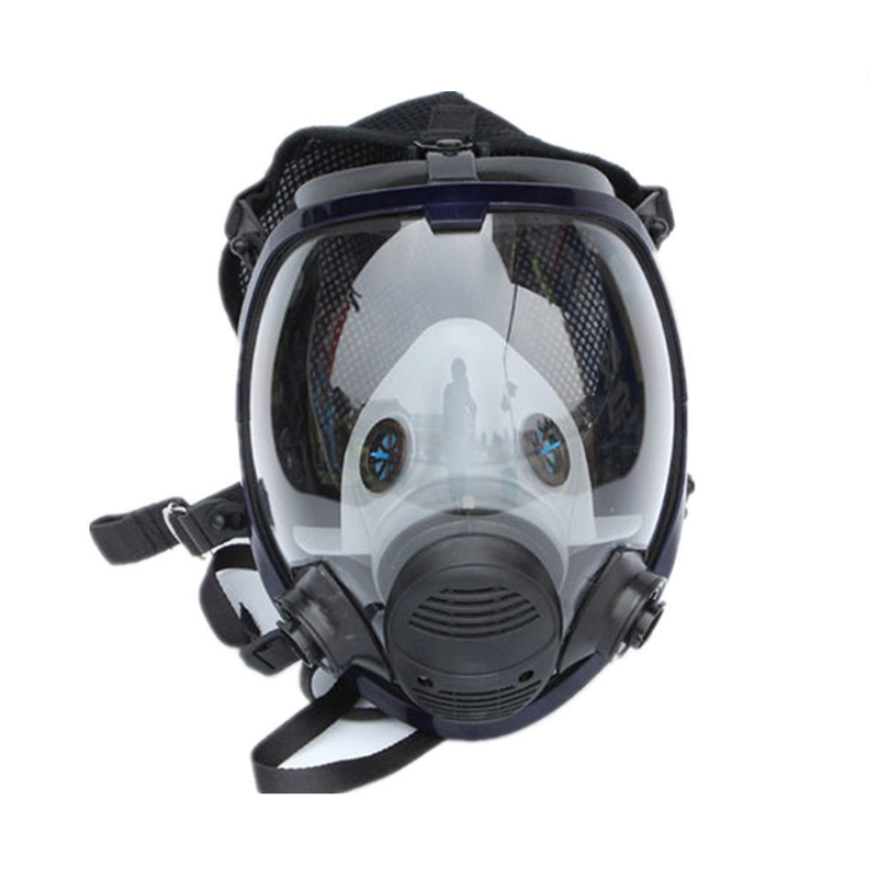 Click here to buy Gas Mask Full Face Painting Spraying Similar for 3M 6800 Facepiece Respirator by M.A.K.