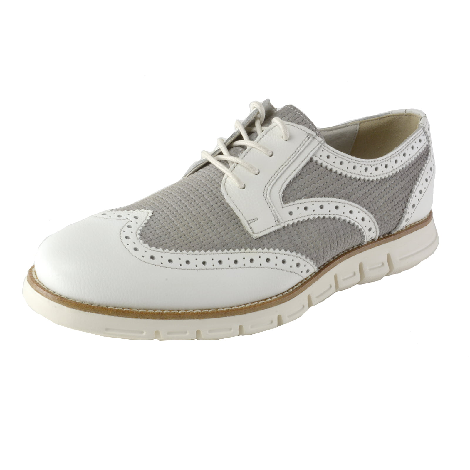 GBX Hirt Men's Classic Wingtip Derby Lace-Up Oxfords by