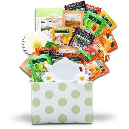 Alder Creek Tealicious Gift Basket, 18 pc