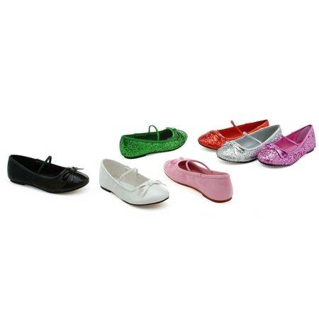 Ellie Shoes E-013-Ballet-G 0 Heel Ballet Slipper with glitter Children M [13/1 USA childs] / Gold](Cheap Ballet Heels)