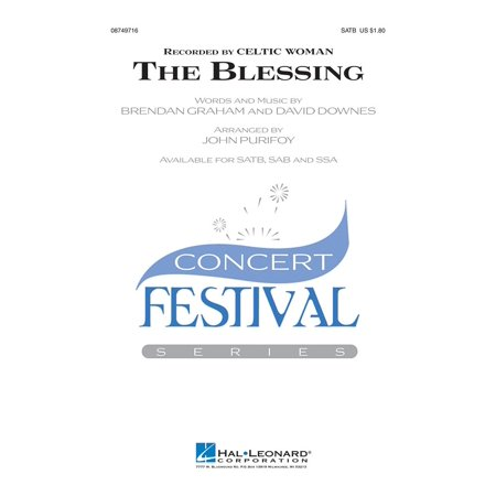 Celtic Halloween Blessings (Hal Leonard The Blessing SATB by Celtic Woman arranged by John)