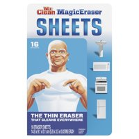 Mr. Clean Magic Eraser Thin Disposable Cleaning Sheets, 16 Ct