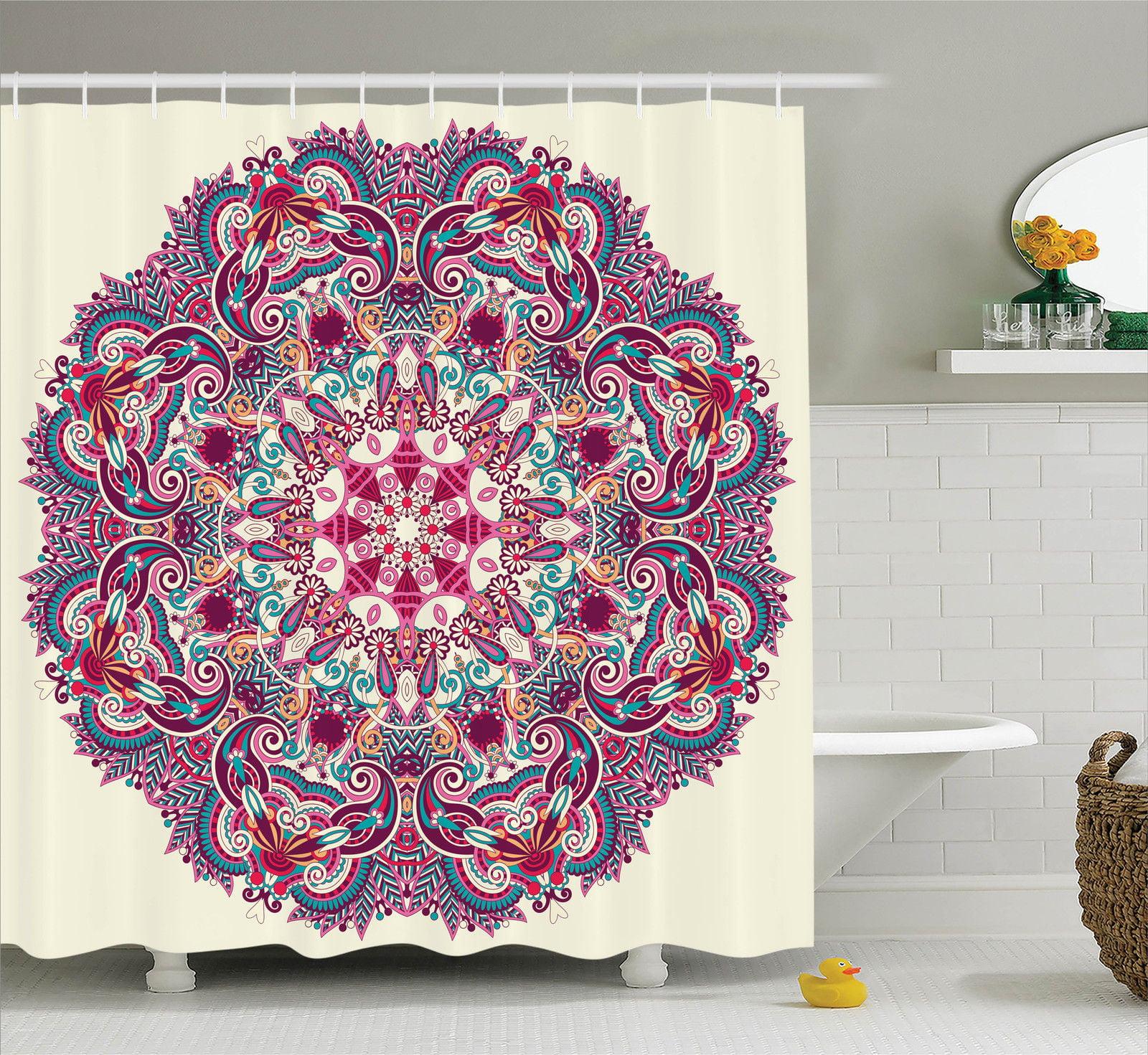 Mandala Decor  Detailed Mandala Pattern With Flower And L...