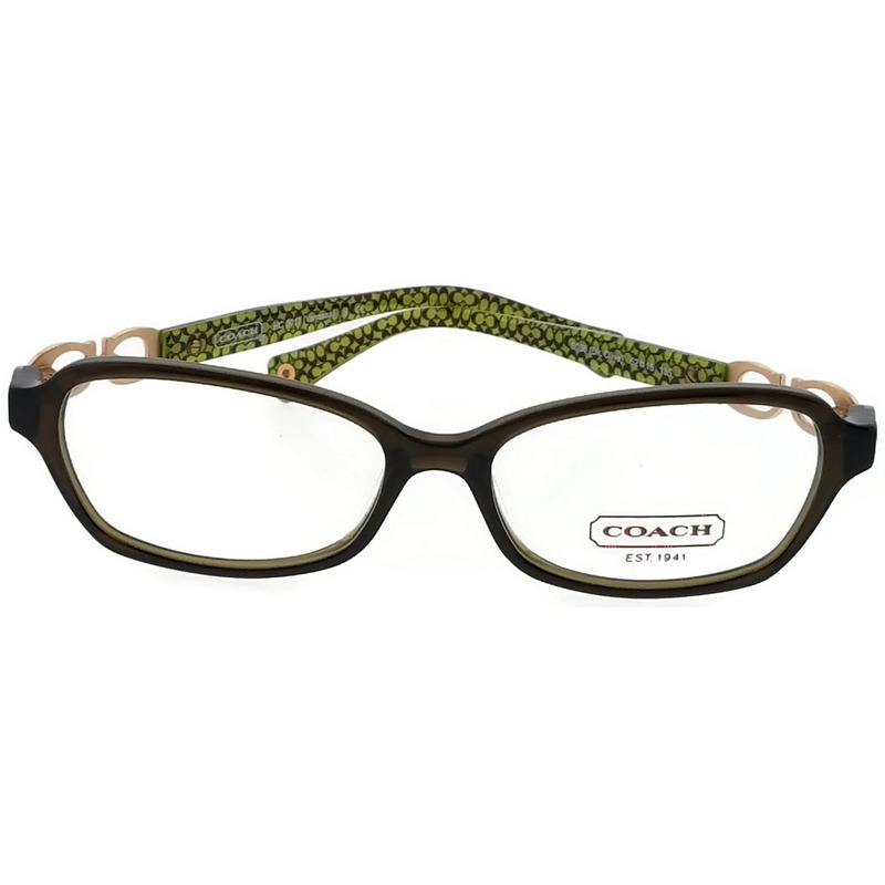 Coach Vanessa Eyeglasses HC6017 5059 Brown Demo Lens 52 15 135