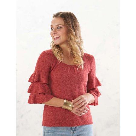 Adelia Tiered Sweater Knit Pattern