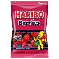 Haribo Berries Gummi Candies, 8 Oz.