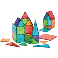Magna-Tiles 32-Piece Clear Colors Set ? The Original, Award-Winning Magnetic Building Tiles ? Creativity and Educational ? STEM Approved