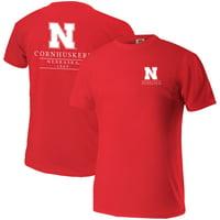 Nebraska Cornhuskers Comfort Colors Mascot T-Shirt - Scarlet
