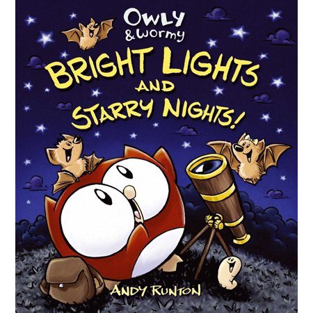 Owly & Wormy, Bright Lights and Starry Nights -