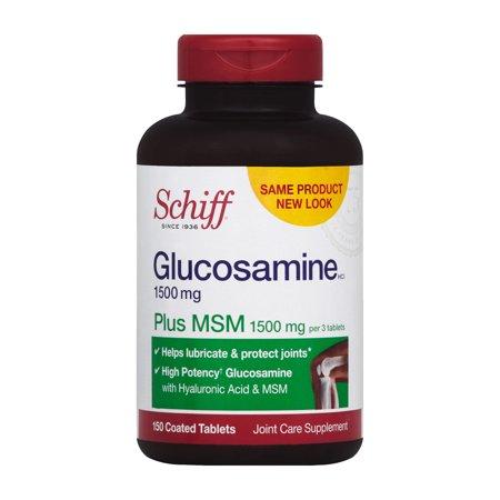 Schiff HCl Glucosamine 1500mg 150 comprimés enrobés