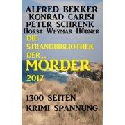 Die Strandbibliothek der Mörder 2017 - eBook