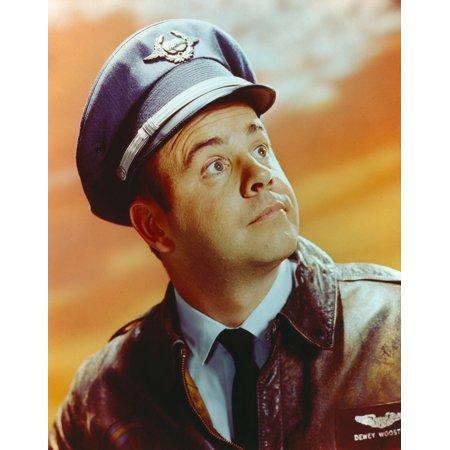 Tim Conway Portrait in Pilot Uniform Photo Print (Pilot Uniform)