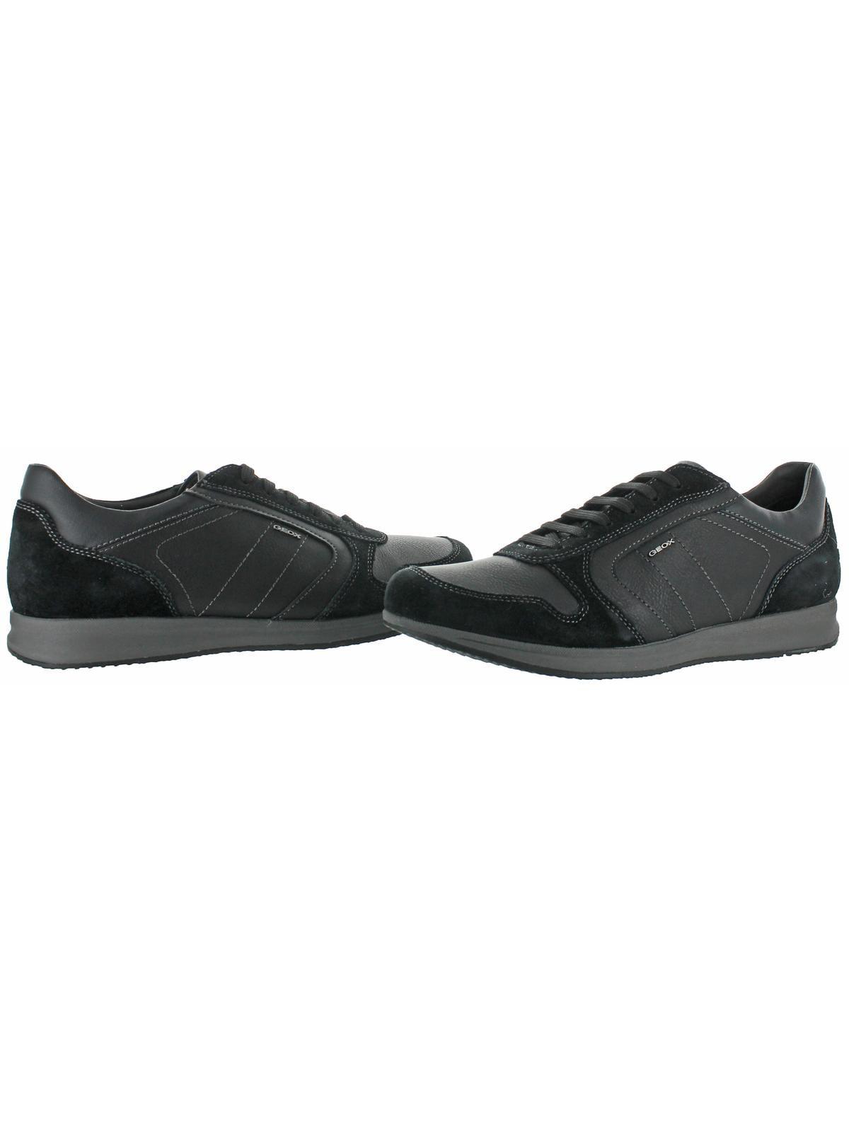 660568b4b7 Geox - Geox Avery Men's Fashion Casual Shoes Sneakers Black Size 11 -  Walmart.com